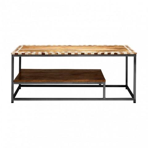 Kensington - Artisan Mango Wood Dohányzóasztal