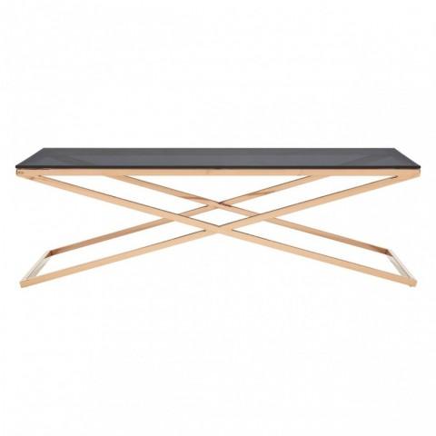 Kensington - Criss Cross Silver Dohányzóasztal