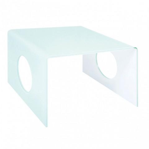 Kensington - Bent Glass Dohányzóasztal