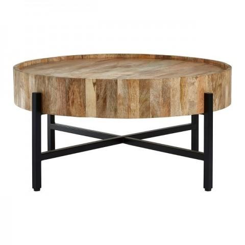 Kensington - Crest Mango Wood Dohányzóasztal