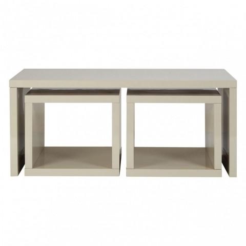 Kensington - Madrid Grey Under Dohányzóasztals