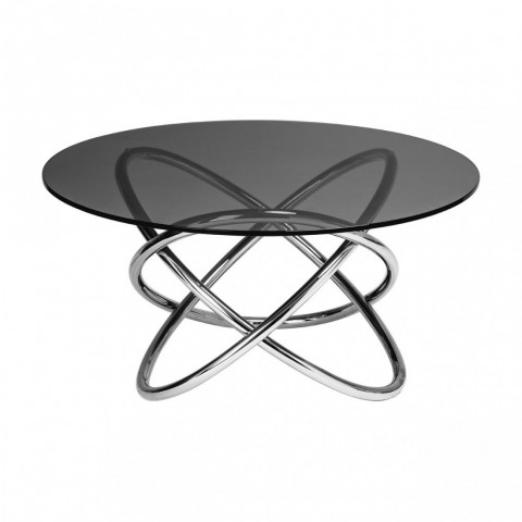Kensington - Smoked Glass Dohányzóasztal