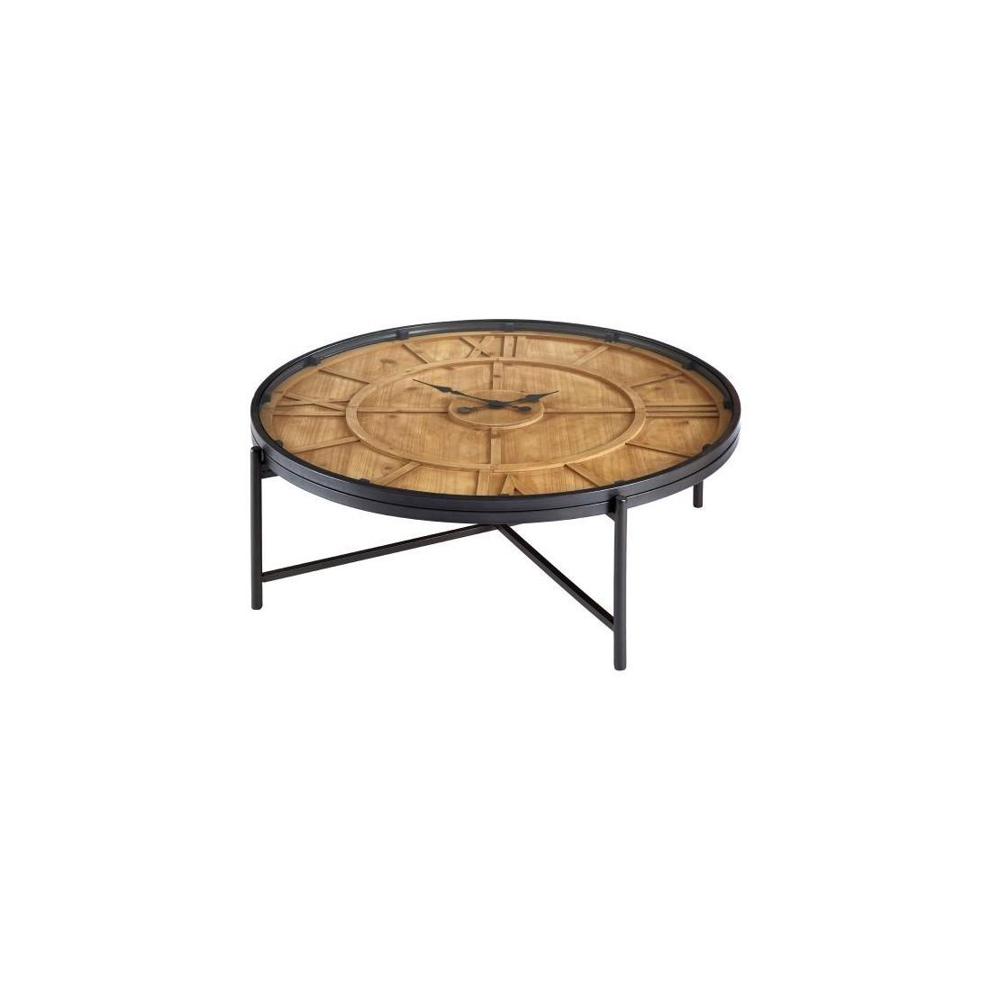 Kensington - Trinity Tempered Glass Round Dohányzóasztal