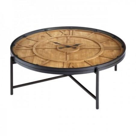Trinity Tempered Glass Round Konferenční stolek