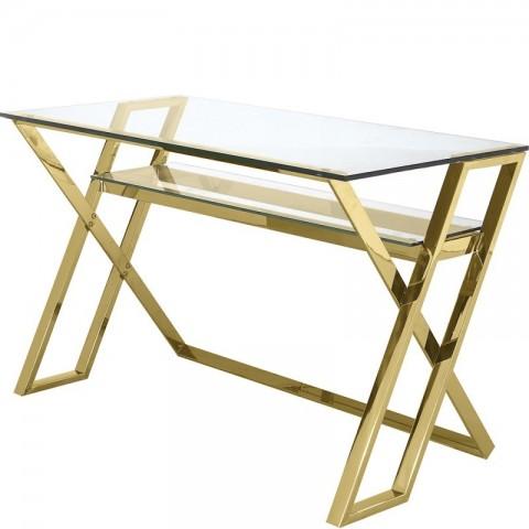 Artelore - Golden Moss psací stůl