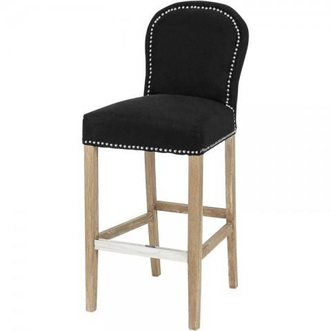 Artelore - Alexa Black barová židle