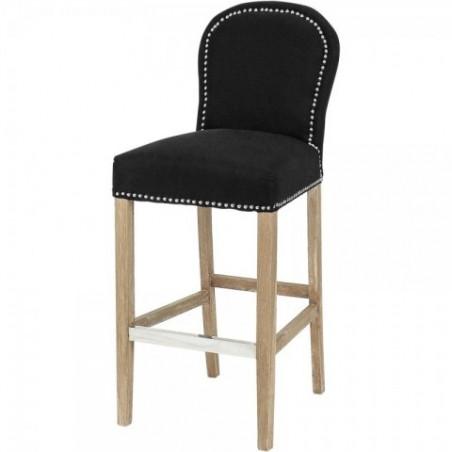 Alexa Black barová židle