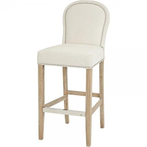 Artelore - Alexa Ecru barová židle