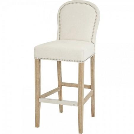 Alexa Ecru barová židle