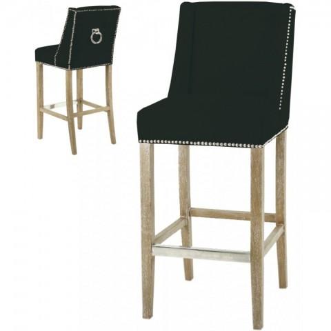 Artelore - Black Brens barová židle