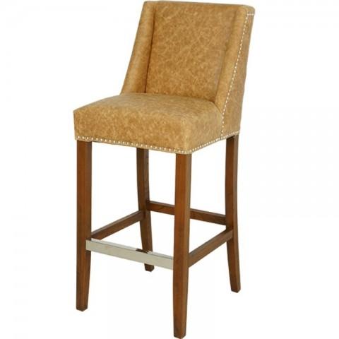 Artelore - Brens Leather Bar Chair