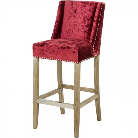 Artelore - Brens Zinc Bar barová židle