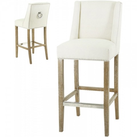 Artelore - Ecru Brens barová židle
