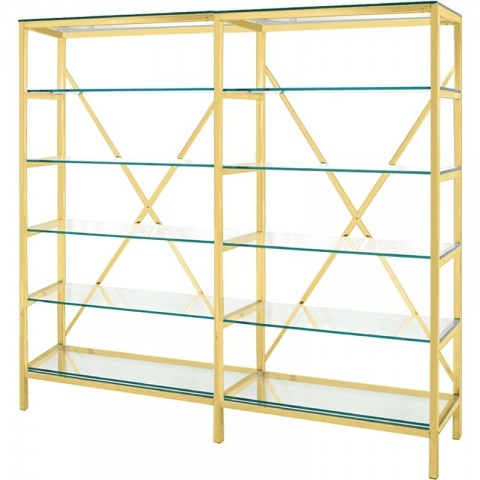 Artelore - Edna 200 Golden policový regál