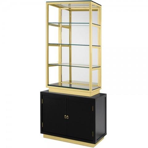 Artelore - Rubens 100 Black Golden policový regál