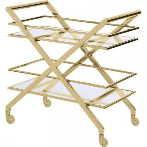 Artelore - Gatsby Golden barový vozík