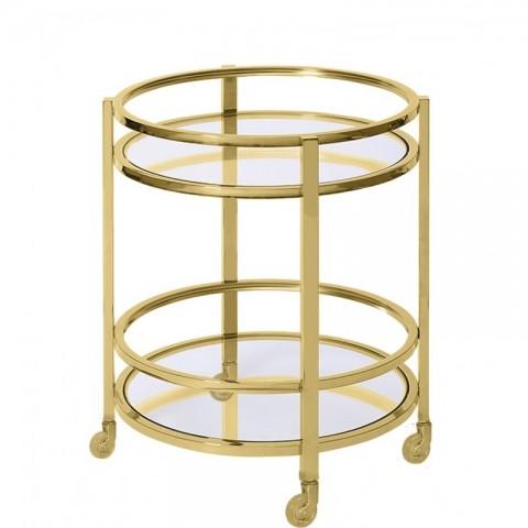 Artelore - Meyer Golden barový vozík