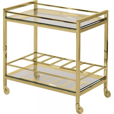 Artelore - Sullivan Golden barový vozík