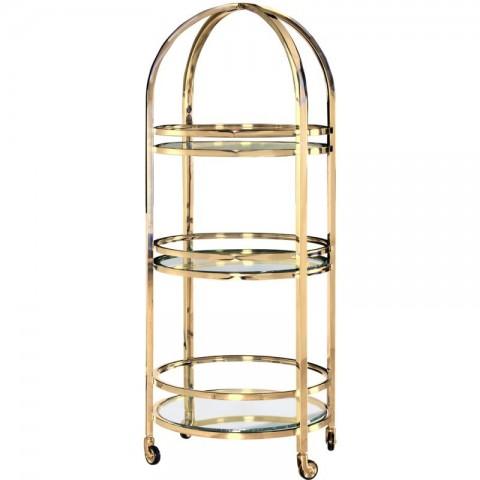 Artelore - Vanadis Golden barový vozík