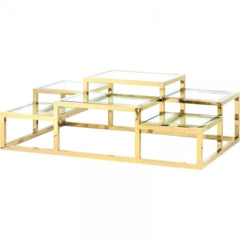 Artelore - Alvar Golden konferenční stolek