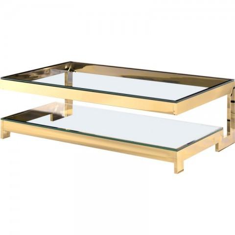 Artelore - Babylon Golden konferenční stolek