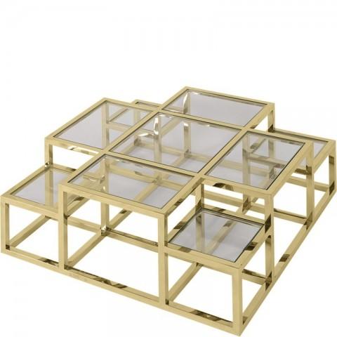 Artelore - Golden Alvar konferenční stolek