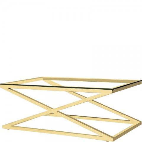 Artelore - Golden Hermes 120 konferenční stolek