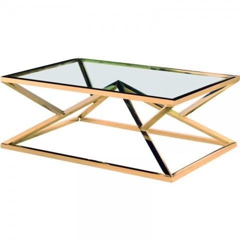 Artelore - Norma Golden konferenční stolek