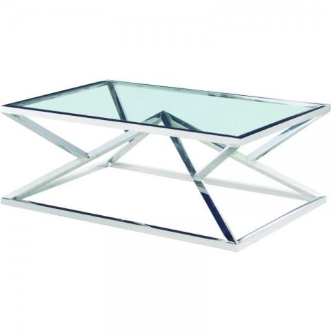 Artelore - Norma Nickel konferenční stolek