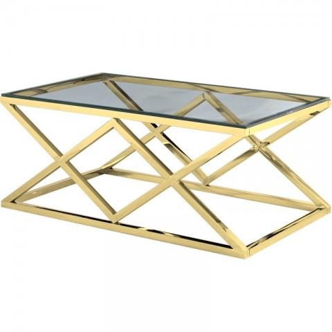 Artelore - Vanir Gold Finish konferenční stolek