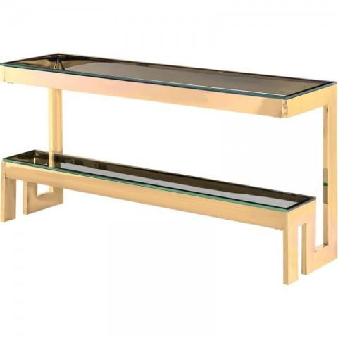 Artelore - Babylon Golden konzolový stůl