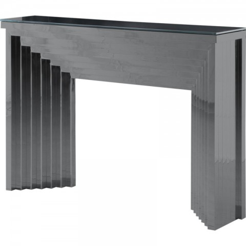 Artelore - Danae Black Nickel Finish konzolový stůl