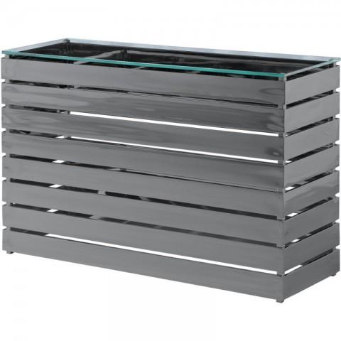 Artelore - Gehry Black Nickel Finish konzolový stůl