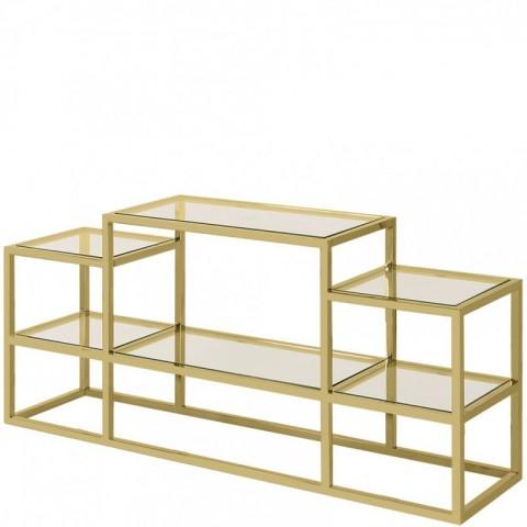 Artelore - Golden Alvar konzolový stůl