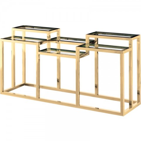 Artelore - Golden Alvar Ii konzolový stůl