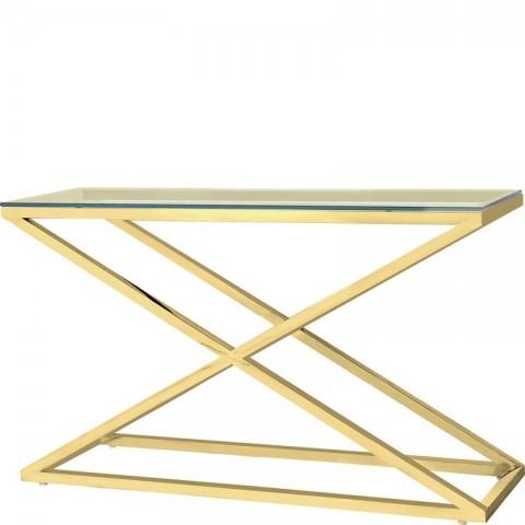 Artelore - Golden Hermes 130 konzolový stůl