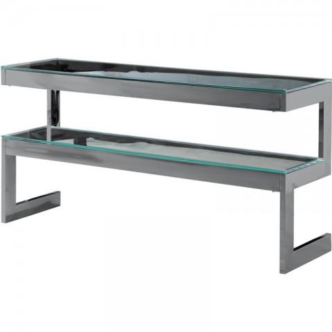 Artelore - Kassia Black Nickel konzolový stůl