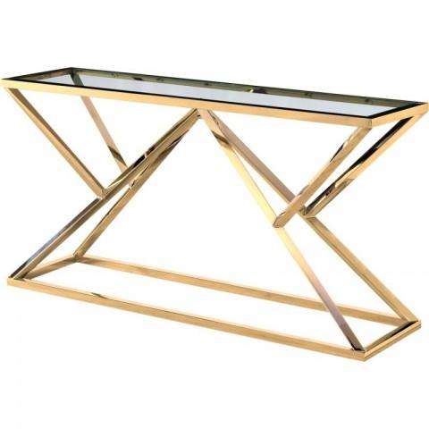 Artelore - Norma Golden konzolový stůl