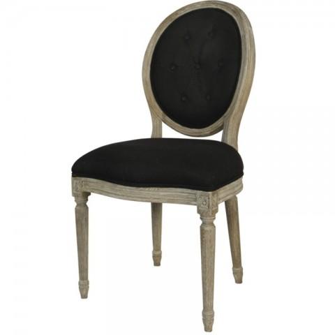 Artelore - Adur Black čalouněná židle