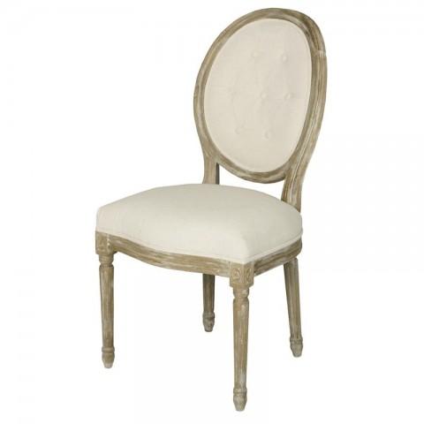 Artelore - Adur Ecru čalouněná židle