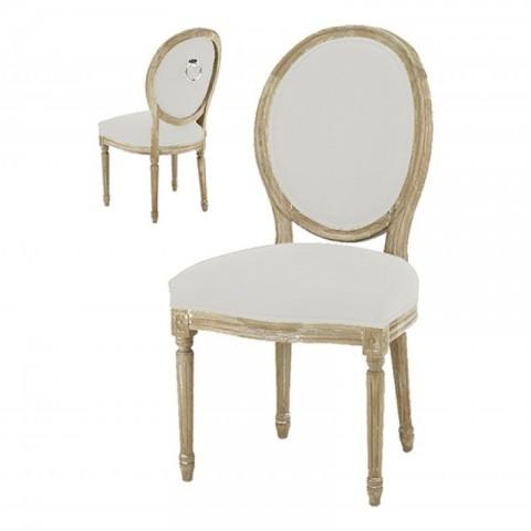 Artelore - Adur Ecru Ring čalouněná židle
