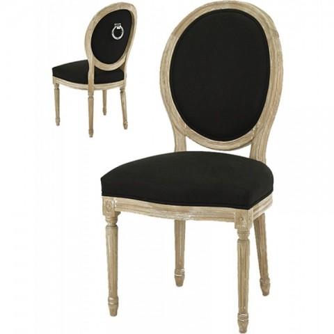 Artelore - Black Adur Ring čalouněná židle