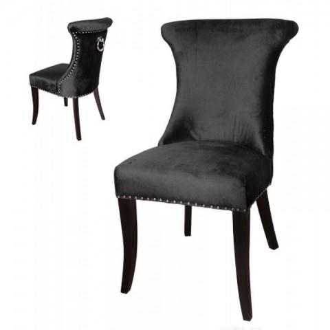 Artelore - Black Anvers čalouněná židle