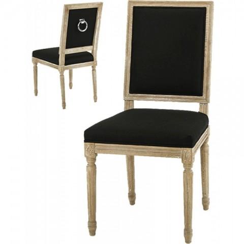Artelore - Black Charpentier čalouněná židle