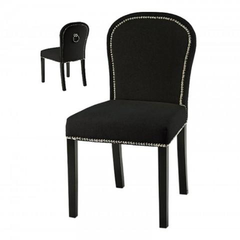 Artelore - Black Lauren čalouněná židle