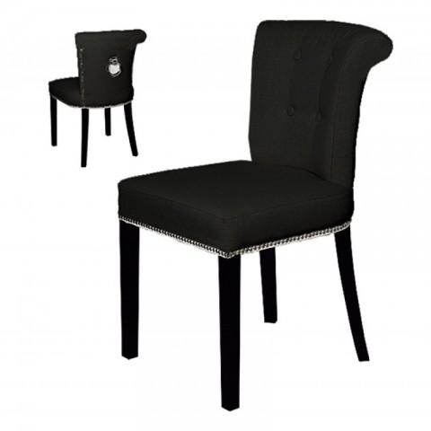 Artelore - Black Madison čalouněná židle