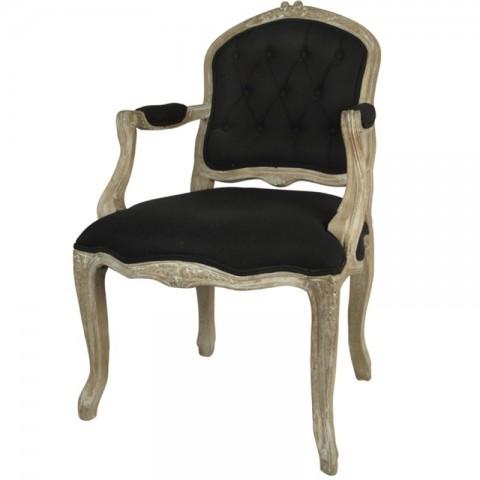 Artelore - Black Maider čalouněná židle
