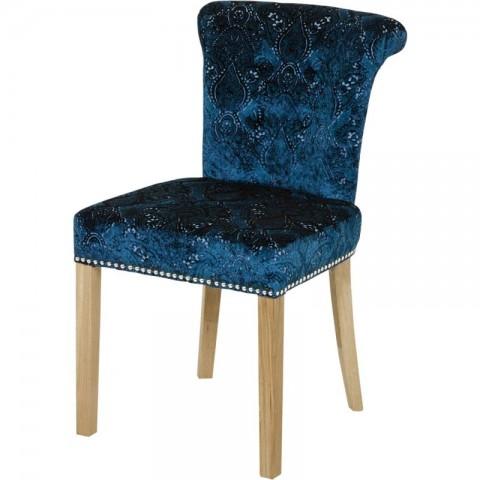 Artelore - Blue Edgar Madison čalouněná židle