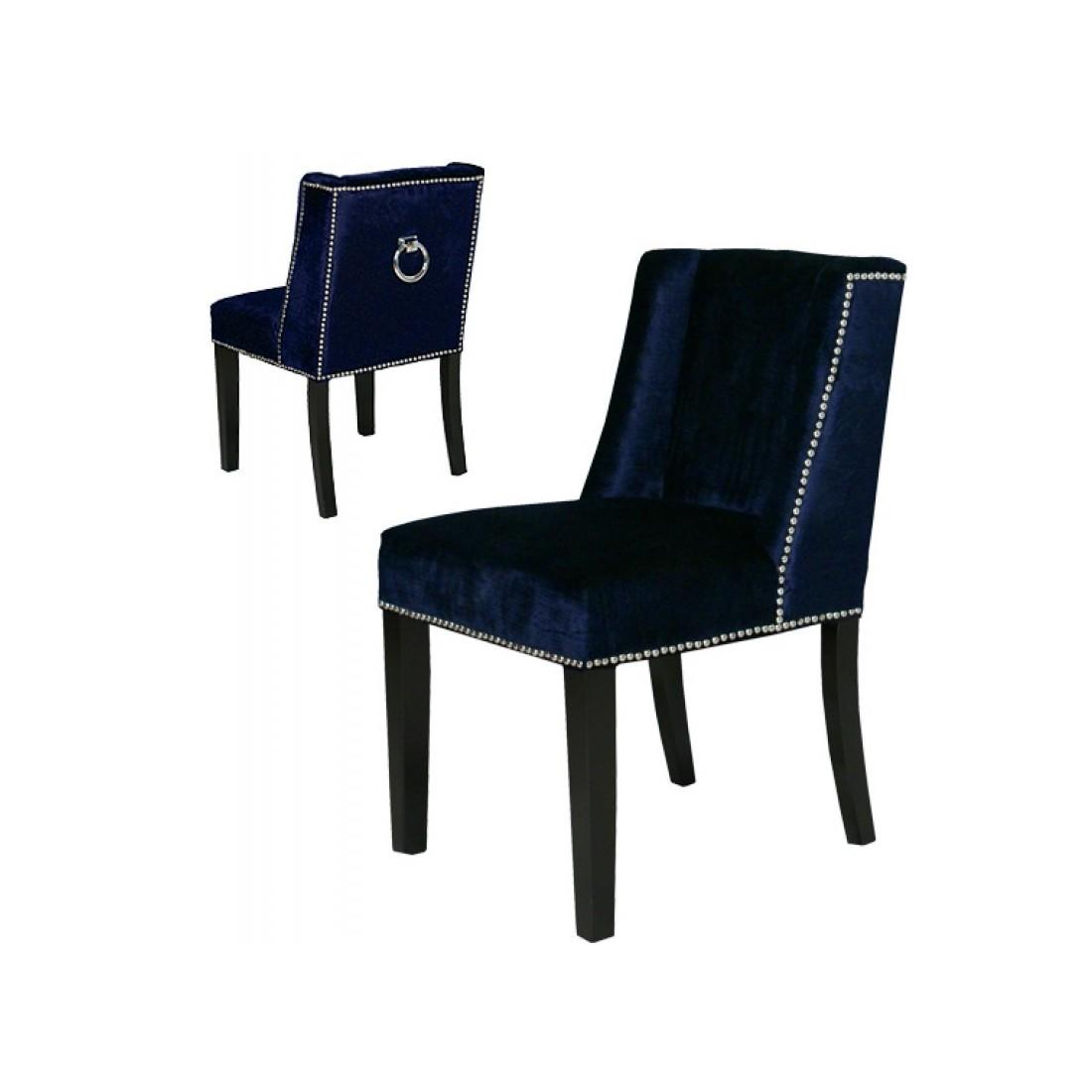 Artelore - Brens  Blue Velvet čalouněná židle