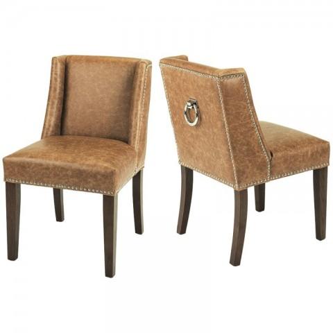 Artelore - Brens Leather čalouněná židle